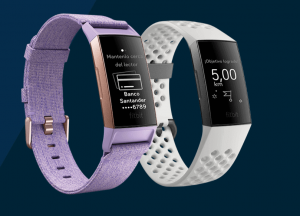 Fitbit Charge 3 sistema de pago