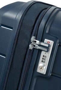 Samsonite Flux Spinner Cremallera doble